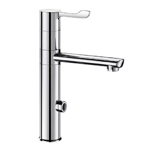 Delabie 20164T1 TEMPOMATIC MIX Deck-Mounted Infrared Sensor Sink Mixer